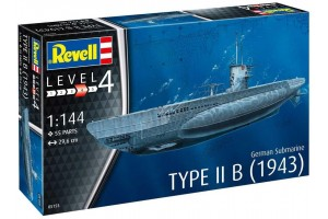 German Submarine Type IIB (1943) (1:144) - 05155