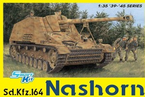Sd.Kfz.164 Nashorn (4 in 1) (SMART KIT) (1:35) - 6459