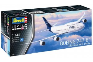 "Boeing 747-8 Lufthansa ""New Livery"" (1:144) - 03891"
