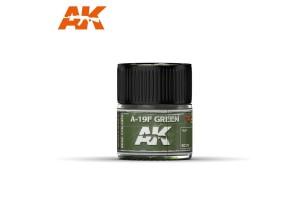 312: A-19F Grass Green