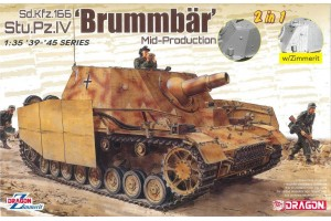 Sd.Kfz.166 Stu.Pz.IV 'BRUMMBÄR' MID-PRODUCTION (2 IN 1) (1:35) - 6892