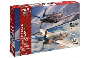 War Thunder P-47 N and P-51 D (1:72) - 35102