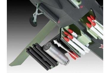 Plastic ModelKit vrtulník 03889 - Kamov Ka-58 Stealth (1:72)
