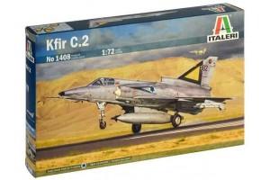 Model Kit letadlo 1408 - Kfir C.2 (1:72)