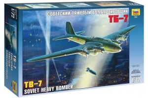 Soviet Bomber TB-7 (1:72) - 7291