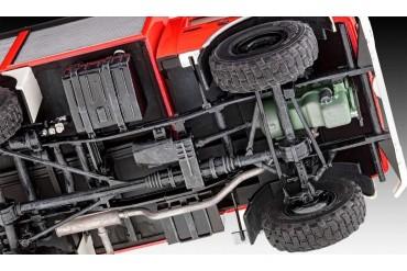 Plastic ModelKit auto 07531 - Schlingmann Unimog RW1 (1:24)