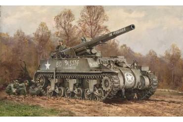 Model Kit tank 7076 - M12 Gun Motor Carriage (1:72)