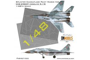 Mask set - MiG-29SMT (9-19) (1:48) - 48/827-022