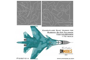 Mask set - Su-34 Fullback (1:72) - 72/827-014