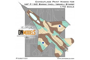 Mask set - F-16C Barak (1:72) - 72/827-031