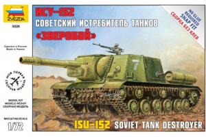 Self Propelled Gun ISU-152 (1:72) - 5026
