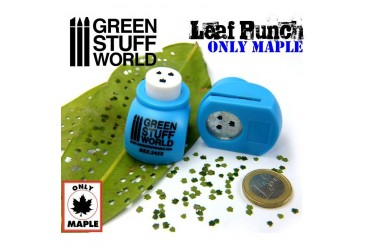 Leaf Punch MEDIUM BLUE