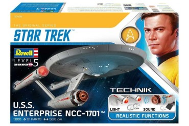 Plastic ModelKit TECHNIK Star Trek 00454 - USS Enterprise NCC-1701 (1:600)