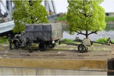 Model Kit diorama 6194 - Pegasus Bridge Airborne Assault (1:72)