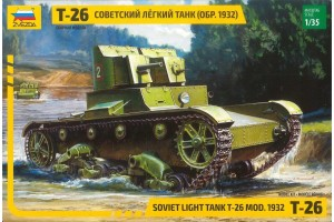 T-26 Version 1932 (1:35) - 3542