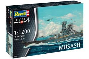 Musashi (1:1200) - 06822