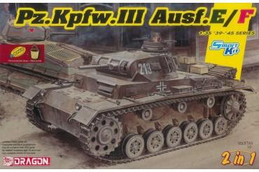 Pz.Kpfw.III Ausf.E/F (Smart kit) (2 in 1) (1:35) - 6944