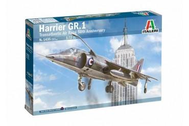 Model Kit letadlo 1435 - HARRIER GR.1 Transatlantic Air Race 50th Ann. (1:72)