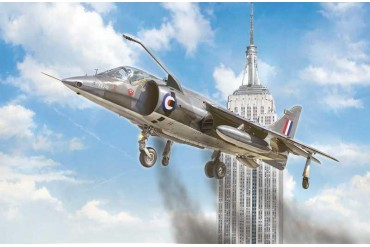 Model Kit letadlo 1435 - HARRIER GR.1 Transatlantic Air Race 50th Ann. (1:72)