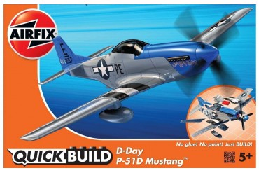 Quick Build letadlo J6046 - D-Day P-51D Mustang