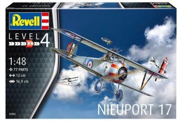 ModelSet letadlo 63885 - Nieuport 17 (1:48)