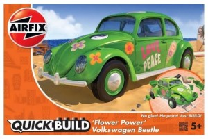 Quick Build - VW Beetle Flower-Power - J6032