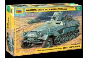 Model Kit tank 3588 - Sd.Kfz.251/10 w/3.7cm PAK (RR) (1:35)