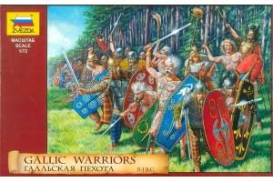 Model Kit figurky 8012 - Gallic Warriors (1:72)