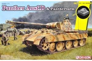 Model Kit tank 6940 - Sd.Kfz.171 Panther Ausf.D mit Pantherturm (1:35)