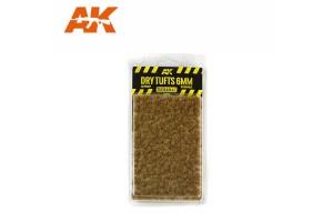 Suché trsy trávy (Dry tufts) - 6mm - 8117