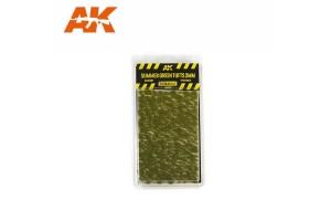 Letné trsy trávy (Summer green Tufts) - 2mm - 8124