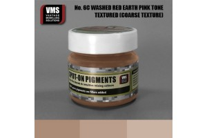 Red Earth Washed Pink Tone - Coarse Texture - SO.No6cCT