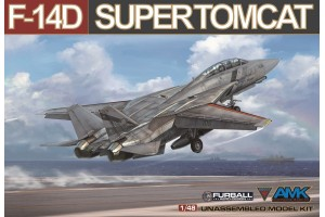 Grumman F-14D Super Tomcat (1:48) - 8807