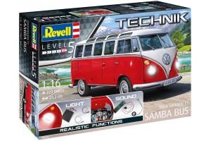 "Volkswagen T1 ""Samba Bus"" (1:16) - 00455"