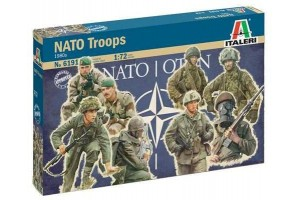 NATO TROOPS (1980s) (1:72) - 6191