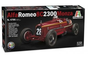 Model Kit auto 4706 - ALFA ROMEO 8C 2300 Monza (1:12)