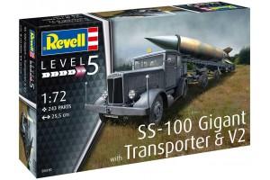 SS-100 Gigant + Transporter + V2 (1:72) - 03310