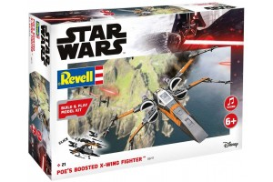Poe's Boosted X-wing Fighter (zvukové efekty) (1:78) - 06777