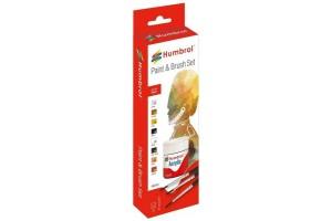 Humbrol sada akrylových barev a štětců AB9060 - Figure Painting