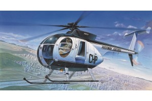 HUGHES 500D POLICE HELICOPTER (1:48) - 12249