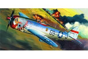 """P-47D """"BUBBLE-TOP"""" (1:72) - 12491"""