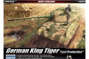 """GERMAN KINGTIGER """"LAST PRODUCTION"""" (1:35) - 13229"""