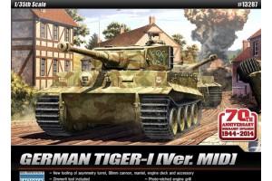 "TIGER-I MID VER. ""Anniv.70 Normandy Invasion 1944"" (1:35) - 13287"
