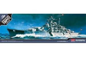 BATTLESHIP TIRPITZ (STATIC) (1:800) - 14219