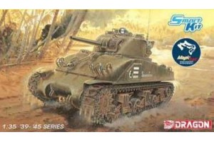 """M4 Sherman """"Composite Hull"""" PTO w/Magic Track (Smart Kit) (1:35) - 6740"""