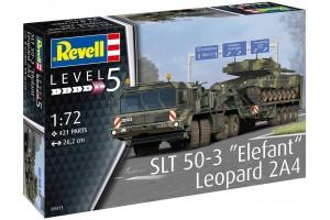 """SLT 50-3 """"Elefant"""" + Leopard 2A4 (1:72) - 03311"""