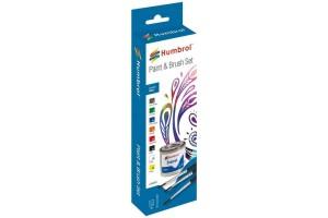 Sada emailových barev a štětců - Gloss - AA9060