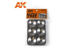 Paleta 6 míst (Six Wells Tray) - AK9014