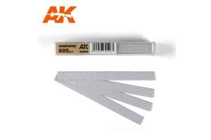 Brusný papír 800 - suché použití (Dry Sandpaper 800) 50ks - AK9025