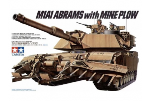 M1 A1 Abrams w/Mine Plow (1:35) - 35158